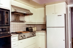 Cooktop & Refrigerator - Angled View
