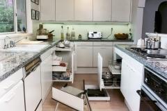 Alternate Kitchen View - Open Cabinets