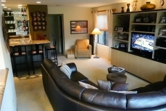 Family Room with Entertainment Center and Wet Bar # 2
