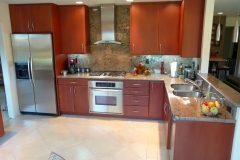 Contemporary L shaped Kitchen Design & Remodel # 1