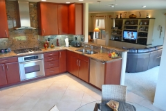 Contemporary L shaped Kitchen Design & Remodel # 8