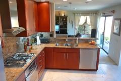 Contemporary L shaped Kitchen Design & Remodel # 9