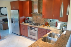 Contemporary L shaped Kitchen Design & Remodel # 13