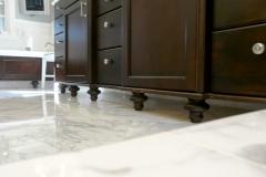 Bun Feet & Floating Cabinets
