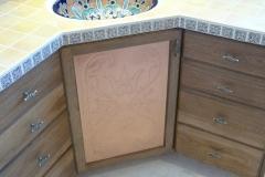 Base Cabinet Copper Door