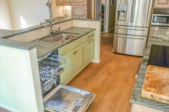 Built-In Dishwasher, Open