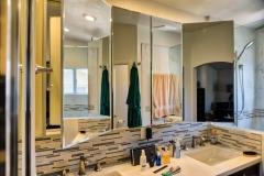 Master bath medicine Cabinets, Open