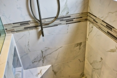 Shower Floor and Wall