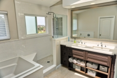 Shower and Cabinets