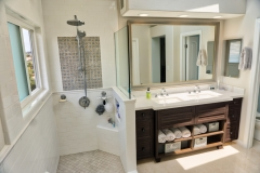 Shower and Cabinetry