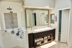 Cabinets and Water Closet