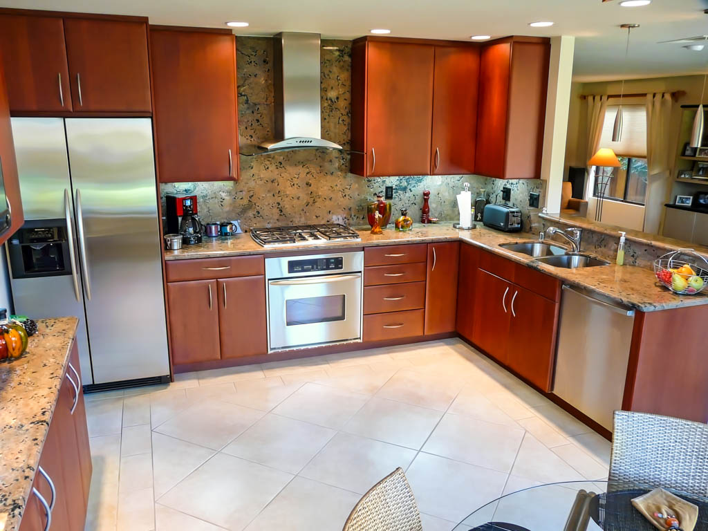 Sleek Modern Red Cherry Kitchen Danilo Nesovic Designer Builder Kitche