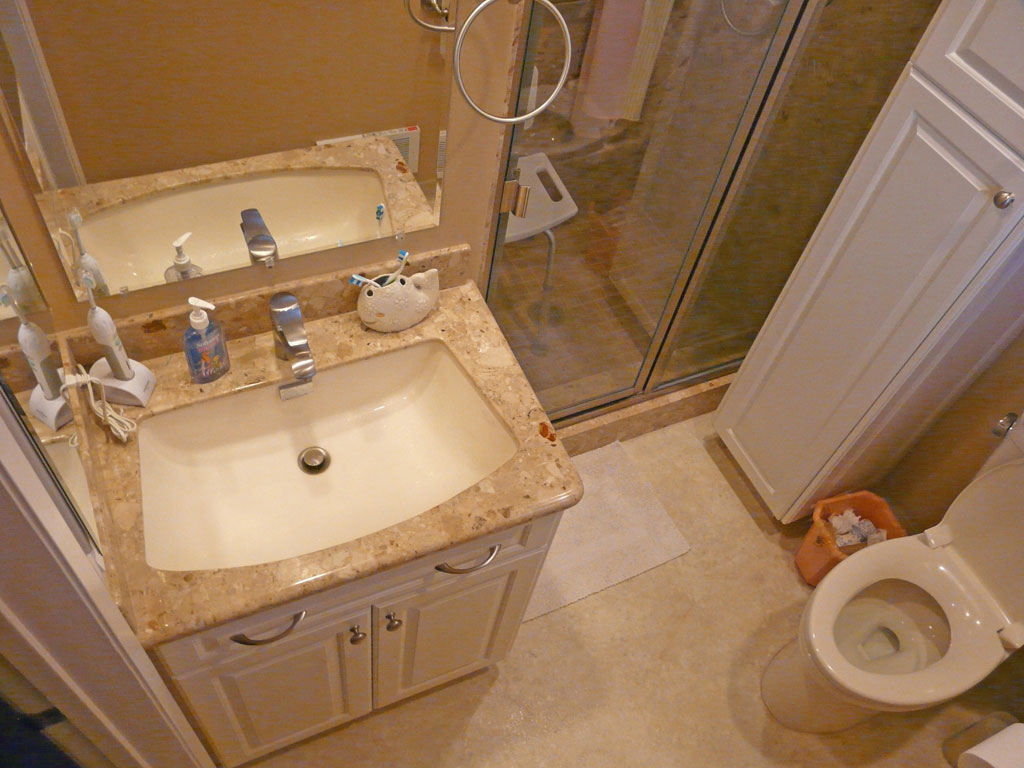 Small master bath remodel danilo nesovic designer for Small master bath remodel