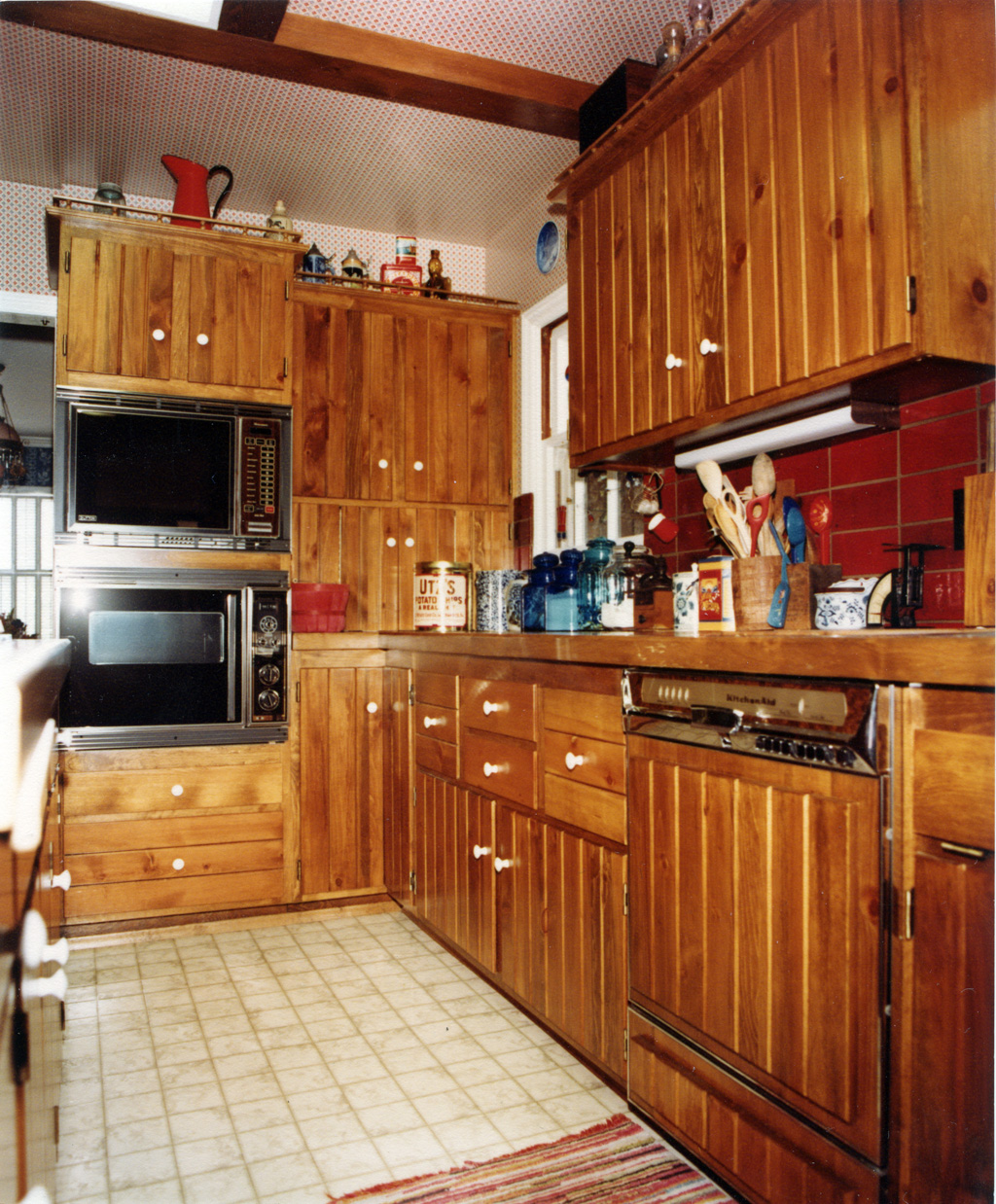 Early American Kitchen Remodel