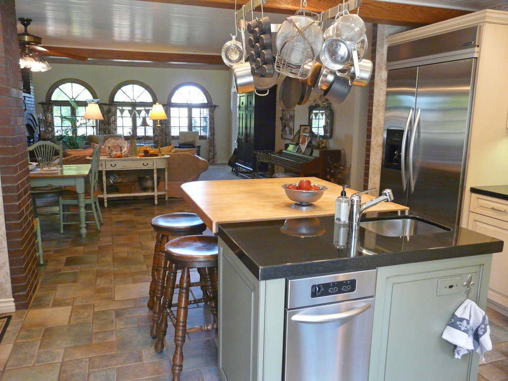 Remodelling Kitchen: Upscale Country Kitchen Remodel
