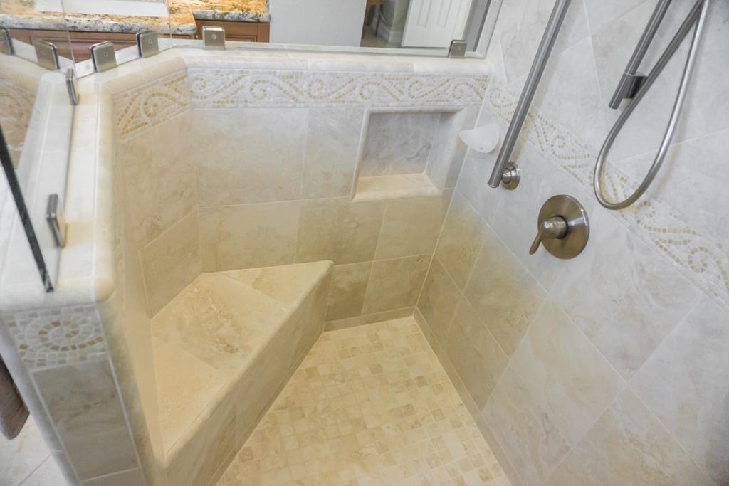 Spacious Cherry Master Bath Remodel Danilo Nesovic